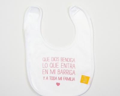 «QUE DIOS BENDIGA LO QUE ENTRA EN MI BARRIGA». Rosa.