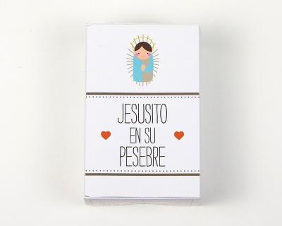 JESUSITO EN SU PESEBRE