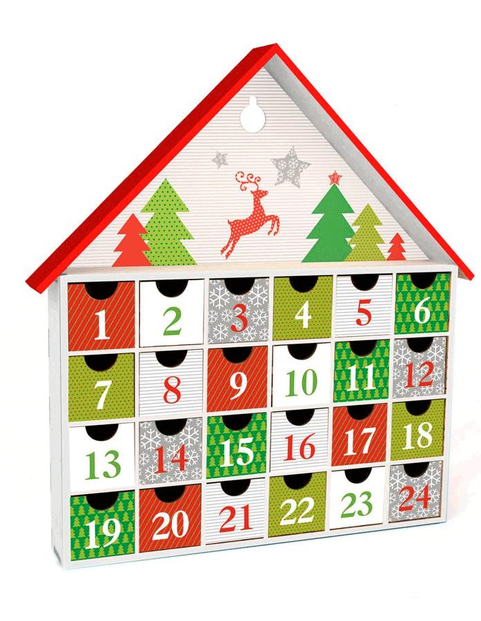 Adviento Calendario.Calendario De Adviento Kit De Montaje Para Los Mas Manitas